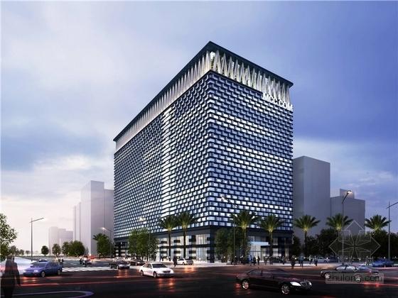 [海南]现代风格高层办公综合体建筑设计方案文本