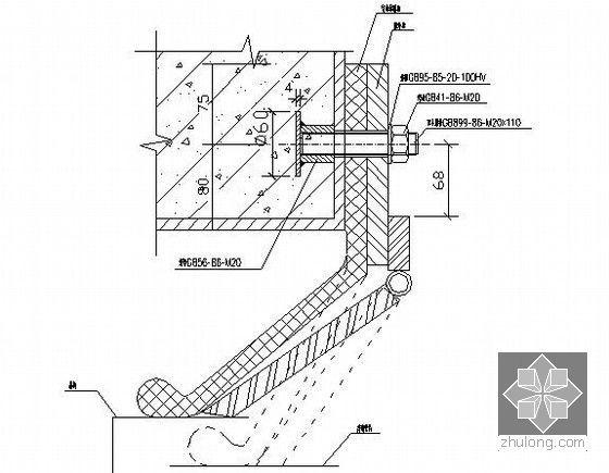 盾构始发洞门防水装置图
