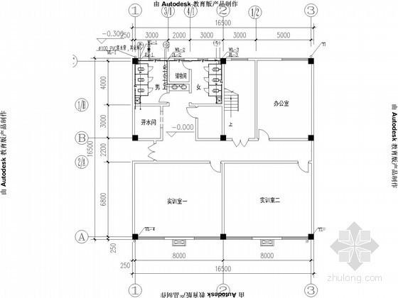 [江西]小型教学楼给排水施工图