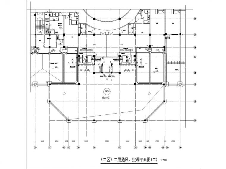 安徽施工图设计资料下载-[安徽]酒店采暖通风和防排烟施工图设计