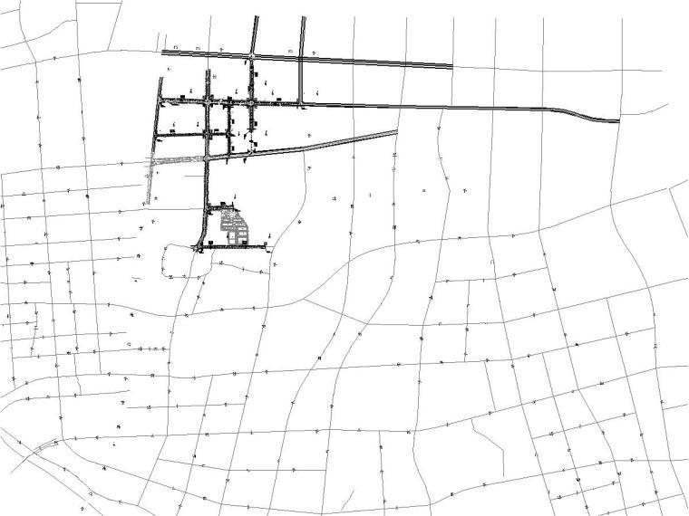 长沙市工业园区道路提质改造工程施工图57张CAD(含交通照明)