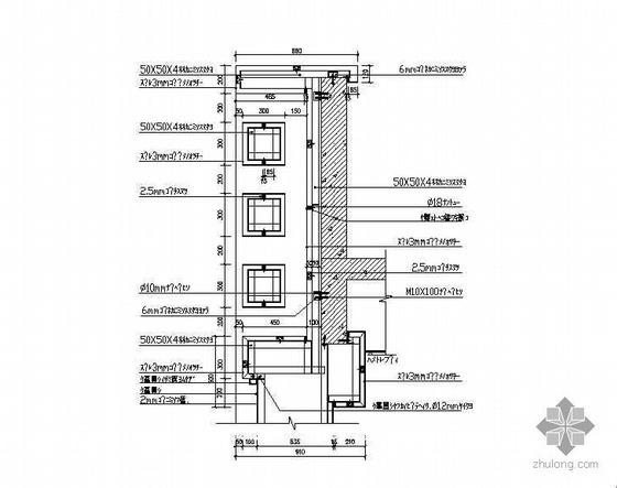 某市人民南路裙房立面改造工程建筑电气施工图