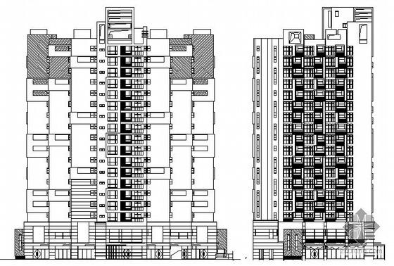某十八层小户型商住楼建筑施工图