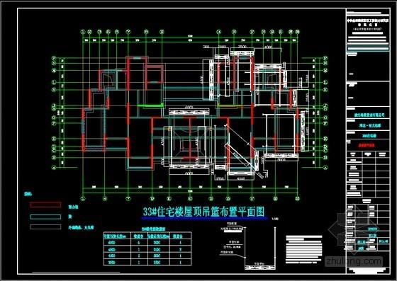 [安徽]高层住宅楼小区工程吊篮施工方案(吊篮型号ZLP630)