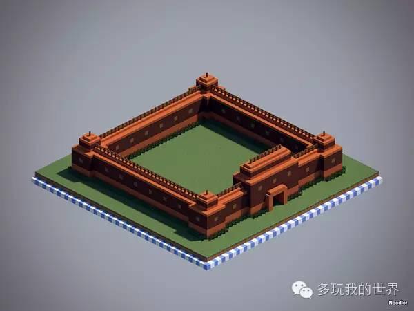值得学习的建筑技巧设计非常独特的十款城墙_9