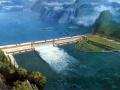 今天水量充沛,三峡电厂首次32台机组全开
