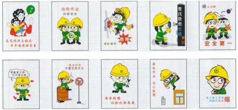 中冶天工施工现场安全质量标准化图集(近百页,附图丰富)_1