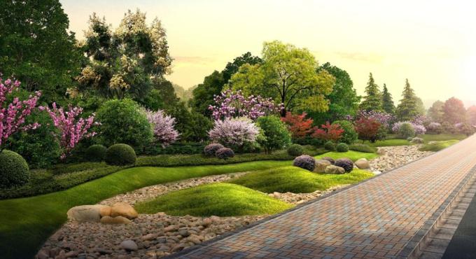 [山东]高新技术产业开发区6大道路景观绿化设计方案(2017最新)
