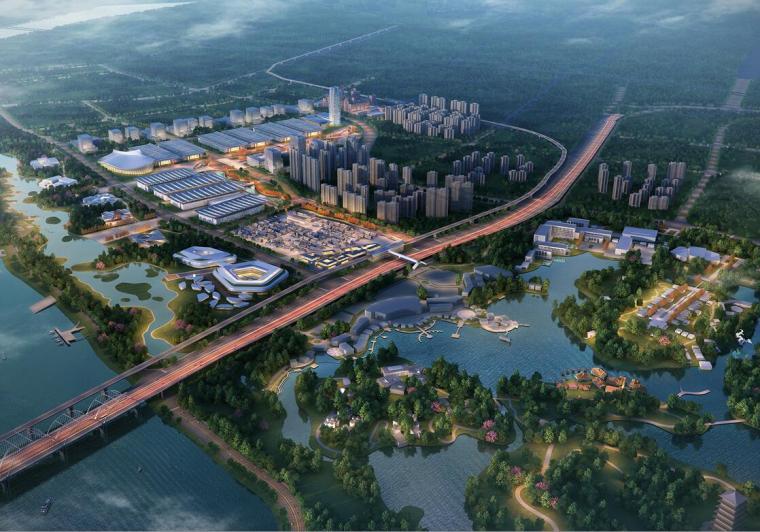 [陕西]西安丝路国际会展中心城市设计方案文本(包含PPT+135页)