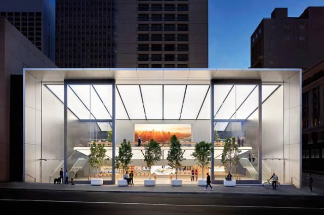苹果店大改版!外墙全打开、桌子能交互,太震撼了!