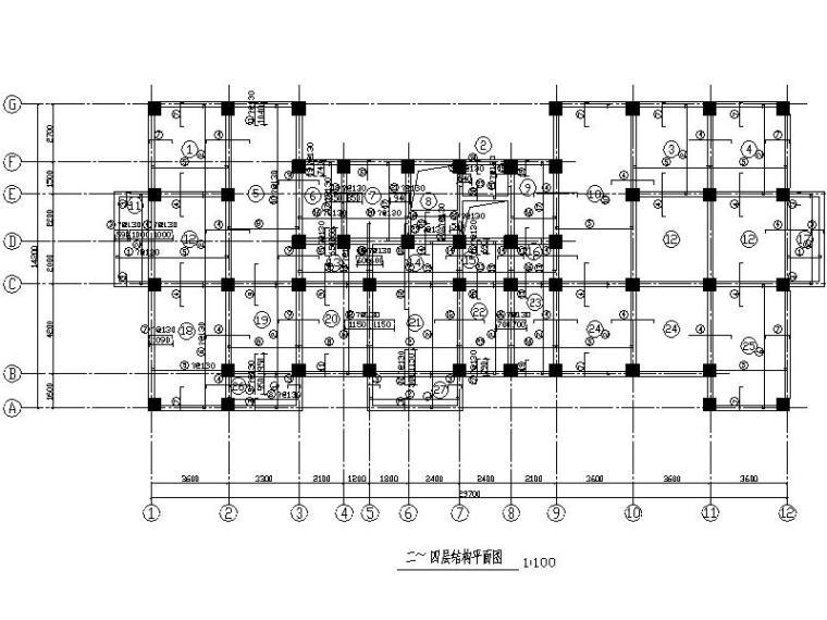 3060平方九层框架住宅楼毕业设计(含计算书施组、建筑、结构图)