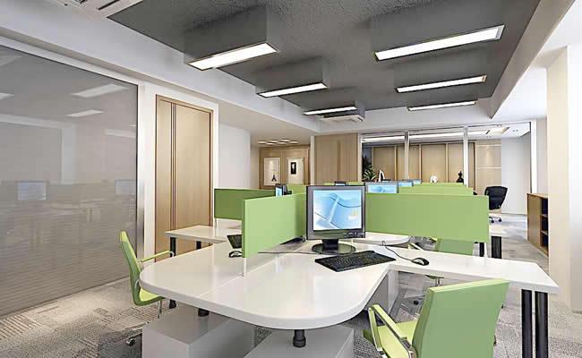 办公室办公区域装修设计