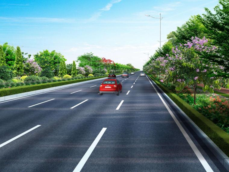 青岛公路桥梁护栏完善提升工程计算实例(含图纸)