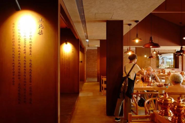 农民房爆改成400㎡餐厅,北京长城脚下的红砖之美