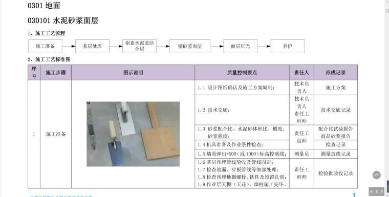 [中建]施工工艺质量管理标准化指导手册(土建)