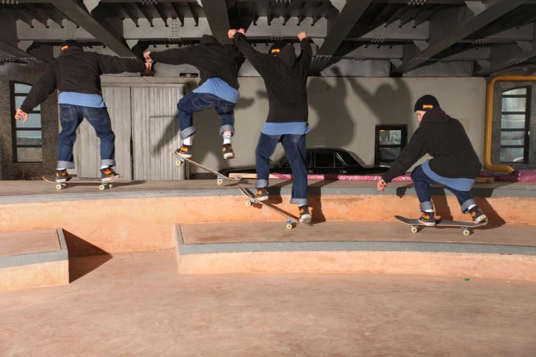 克雷姆斯基大桥的滑板公园-9