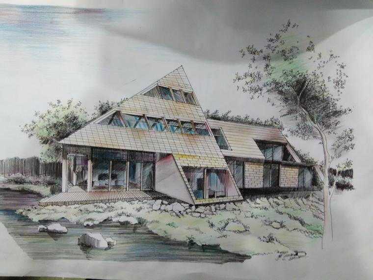 延安市西北川公园设计,红飘带广场_4