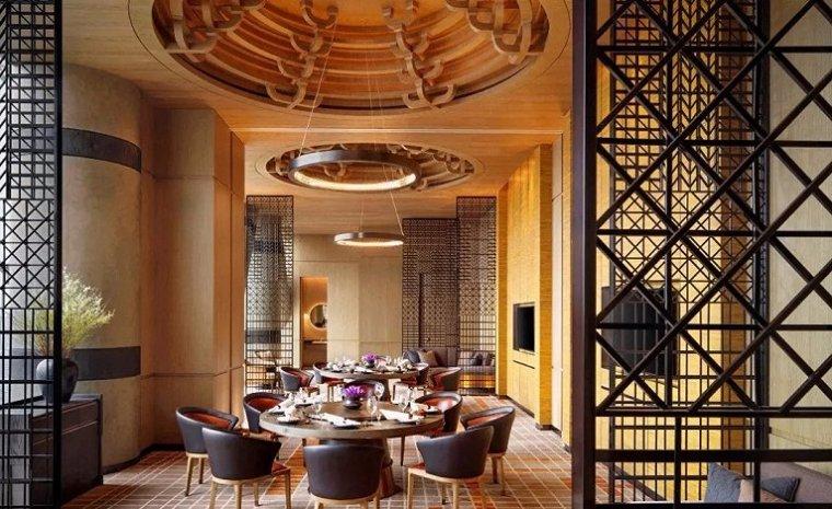 西安雍容盛大的现代君悦酒店室内实景图 (5)