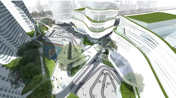 [广东]国际物流中心景观方案设计——泛亚国际