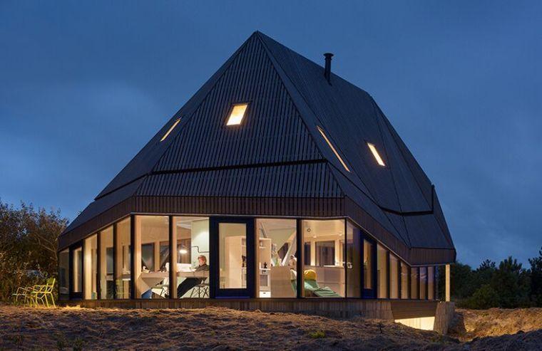 应对地貌与气候,荷兰岛屿住宅_8