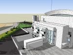 千禧教堂SU模型