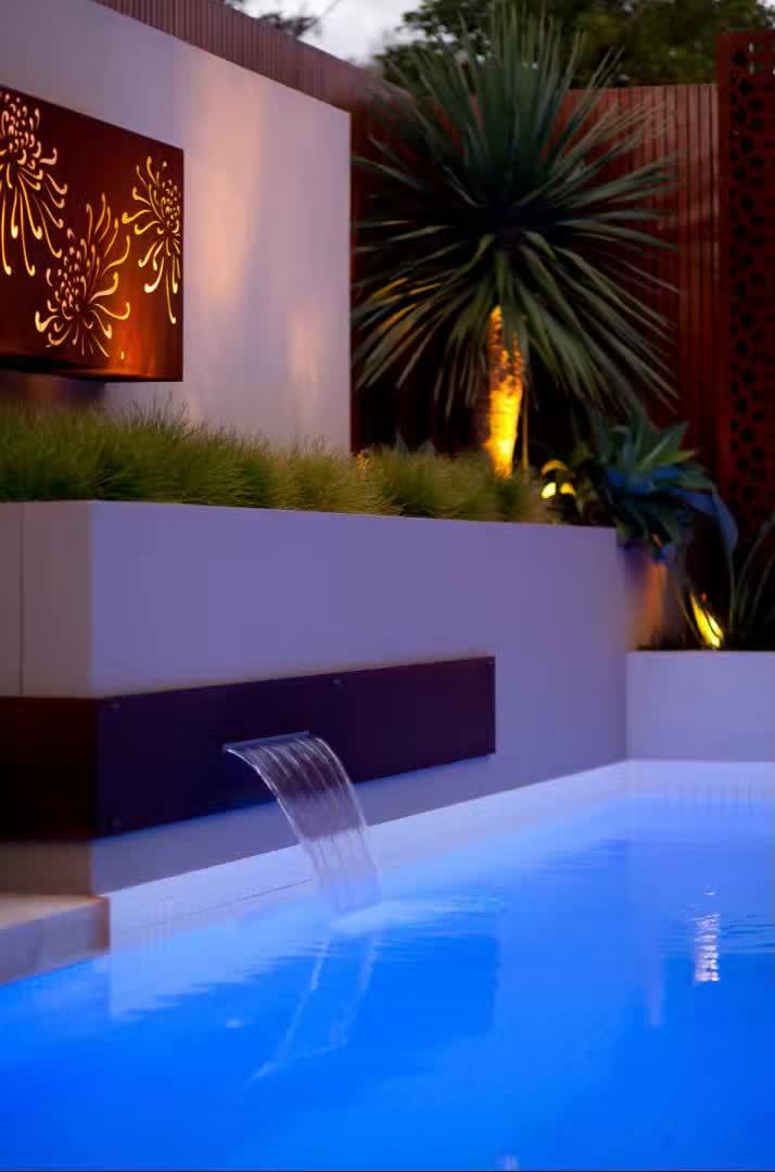赶紧收藏!21个最美现代风格庭院设计案例_79
