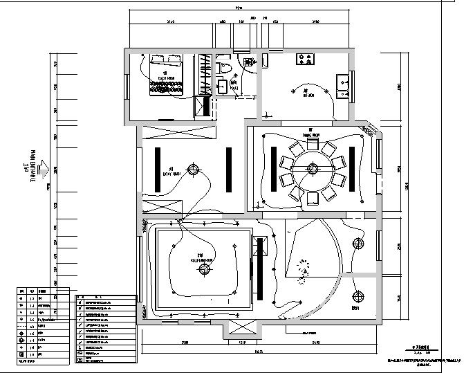 欧式风格住宅别墅设计施工图(附效果图+软装配置)