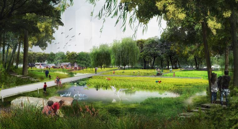 上海三林楔形生态绿地总体规划
