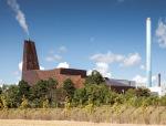 丹麦废物再生能源焚烧塔