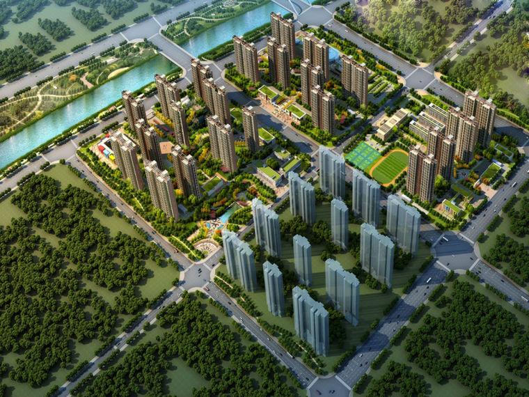 [郑州]棚改项目落地式双排脚手架施工方案