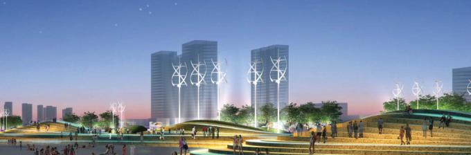 [山东]海滨生态城市地标黄金海岸景观规划设计方案_5