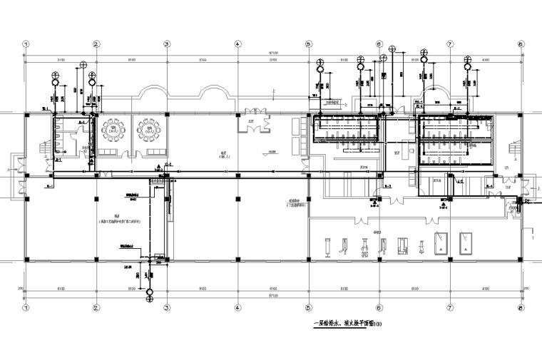 某办公实验楼给排水施工图