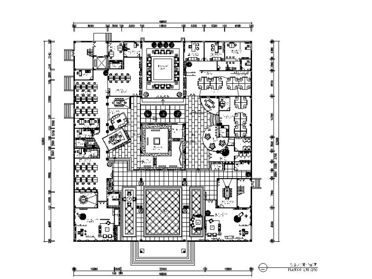 [浙江]整套办公楼设计CAD施工图(含效果图)