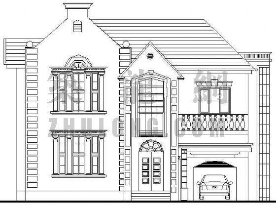 某欧式别墅建筑施工方案