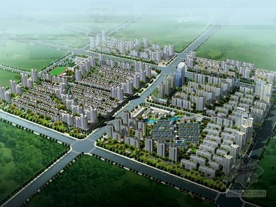 [安徽]某城市规划及单体设计方案文本(南京知名设计院)