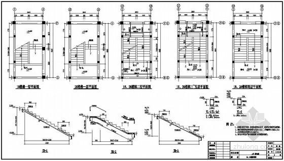 某五层砖混学校宿舍楼结构施工图