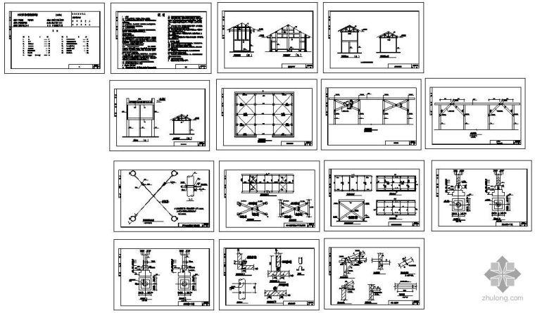 [川]农村居住建筑抗震构造图集-木结构建筑CAD图集