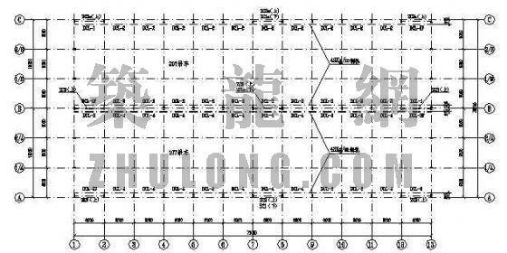 上海某公司钢结构车间施工图