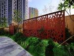 香蜜湖东亚国际风情街景观改造