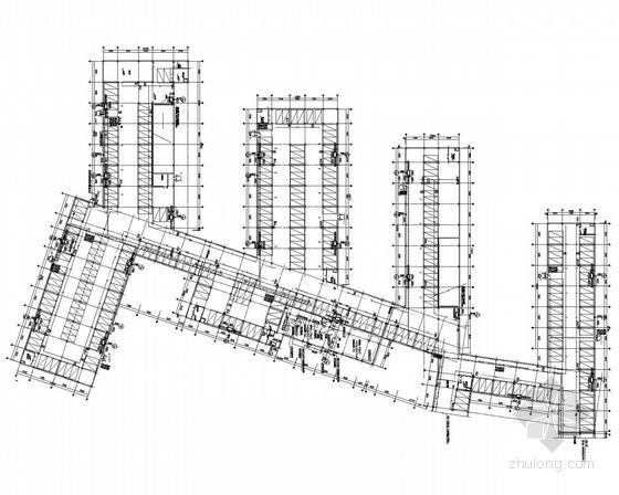 [安微]住宅小区一类汽车库给排水施工图