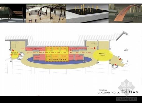 [重庆]星光绚丽灯光照明时尚的商场设计方案(含效果图)