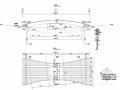 [山东]一跨35m支架现浇预应力混凝土变截面简支箱梁人行桥设计图纸24张附计算书