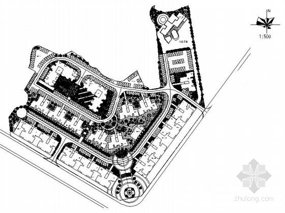 [四川]保障性住房景观设计施工图