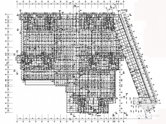 [湖南]高层住宅小区给排水施工图(地下商业用房 太阳能热水系统)