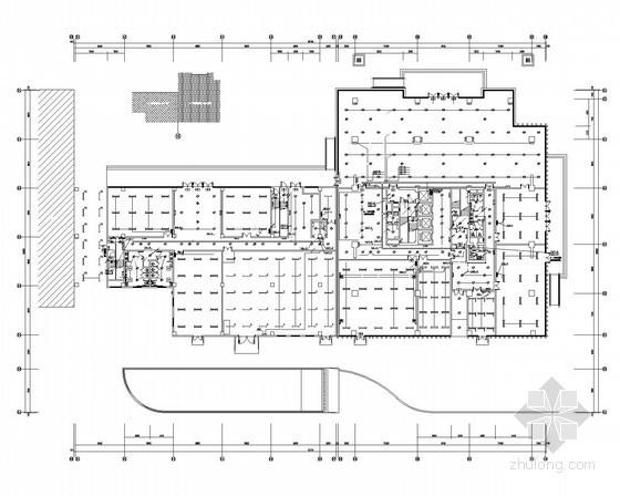 [安徽]汽车客运中心强弱电施工图160张(2015年最新设计 多建筑 甲级设计院)