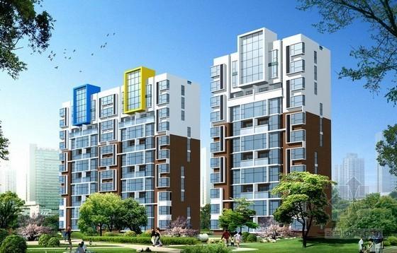 17层砖混住宅楼建安工程造价指标分析