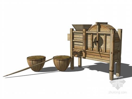 风车SketchUp模型下载