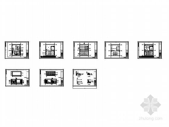 现代风格员工服务室室内装修总缩略图