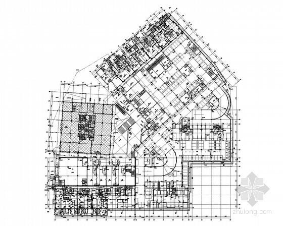 [山东]商业住宅综合建筑给排水施工图(住宅、地下室)