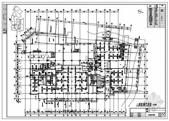 某酒店中央空调设计图